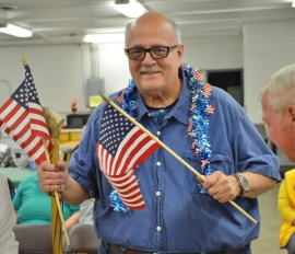 Pete Hildebrand will be the grand marshal in the 2016 July 4 Parade!