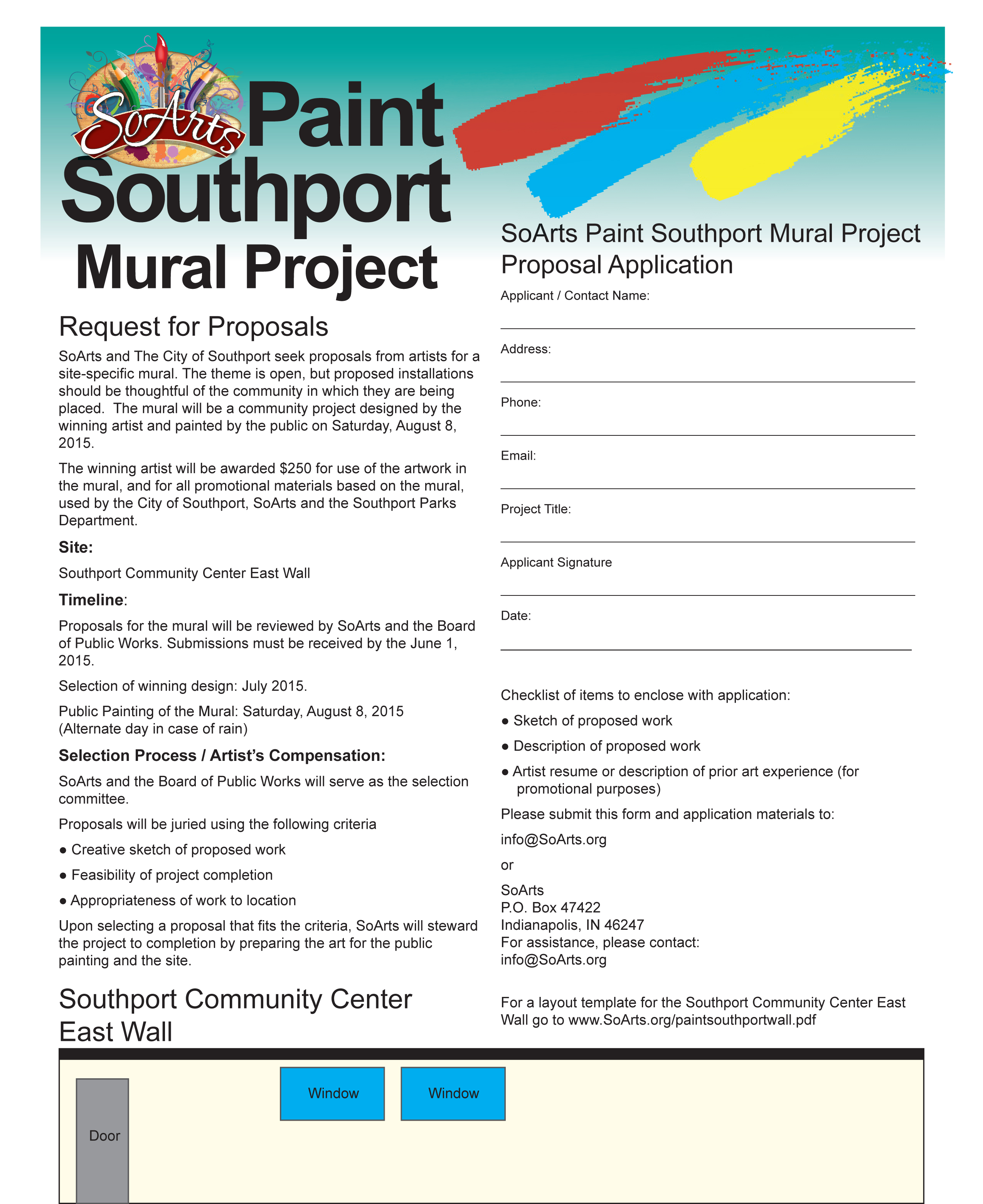 Paint Southport Submit Your Proposal Southport Events
